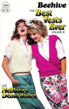 Patons Beehive THE BEST VESTS EVER 1985 Vol II 6 Knitting Patterns Class... - $4.94