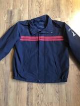 Nautica Hidden Hood Full Zip Mesh Lined Windbreaker Jacket Coat Men's Large - $26.83