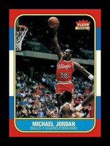 LOT of 100 REPRINT 1986 Fleer #57 MICHAEL JORDAN Rookie Card Bulls - $28.05
