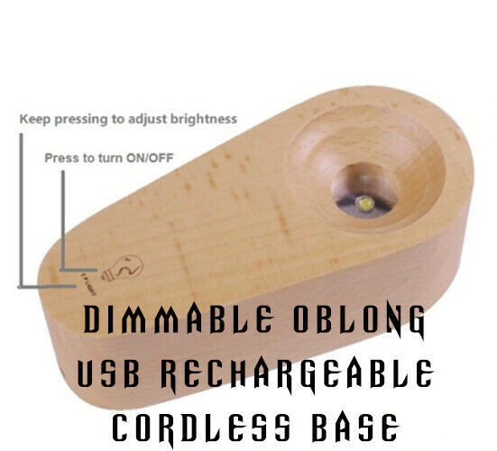 EP LIGHT Bulb Table Lamp Cosmos Effect LED 3D Lighting Solar Halo Mood Lighting