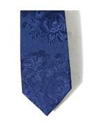 Express Floral Silk Tie Necktie Men Blue 58 x 2 inch Skinny NEW - $19.78