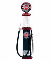 Yat Ming 1:18 diecast model gas pump Studebaker black red cylinder - $12.99