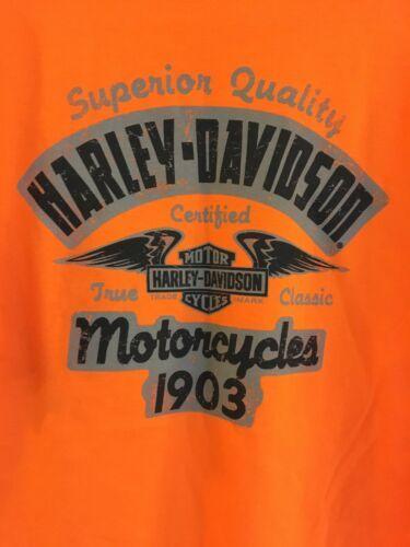 Harley-Davidson HD Men's Size L Orange T Shirt NEW NWT Phoenix Az Buddy Stubbs image 7