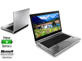 HP 8460P Elitebook Laptop 128GB Solid State SSD 4GB Memory Core i5 Windo... - $250.44