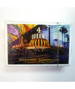Sealed Deck of 4 Queens Casino Las Vegas Four Queens Advertising Playing... - $8.50
