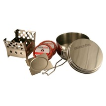 QuickStove Portable Camping Cook kit - Includes Stove, Pot and The Fire ... - £30.69 GBP