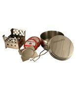 QuickStove Portable Camping Cook kit - Includes Stove, Pot and The Fire ... - £30.39 GBP