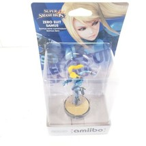 Zero Suit Samus Amiibo (Nintendo Wii U, 2015) for Super Smash Bros. - $19.30
