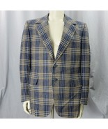 Louis Roth Clothes Vaupel's Whittier Two Button Sport Coat 43L Made In U... - $75.34