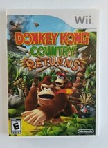 Nintendo Donkey Kong Country Returns Nintendo Wii 2010 Game and Box Only... - $20.94