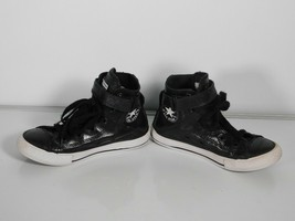 Converse All Star Chuck Taylor Leather High Top Shoes Sneakers Youth Size 13 - $22.76