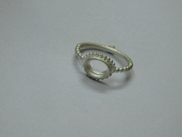 925 sterling Silver mount Ring, Oval- 6X8 mm,RI-0254,ring,all size avail... - $8.60