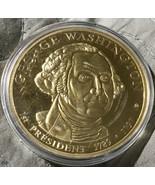 American Mint George Washington Commemorative Coin Presidential Dollar T... - $9.99