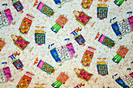 COTTON FABRIC - OUR QUILTS FROM GRANDMA HATTIE FROM IN THE BEGINNING FAB... - $7.91