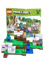 LEGO Minecraft The Iron Golem (21123) Complete - W Brown Sword Subbed Fo... - $19.59