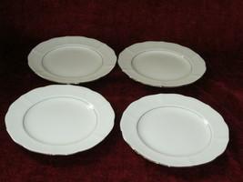 Mikasa Silver Moon set of 4 bread plates - $19.75