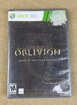 Xbox 360 Elder Scrolls IV: Oblivion Game of the Year Edition 2011 - $7.91