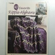 40 Favorite Ripple Afghans Leisure Arts #3338 - $18.68