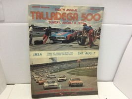 Souvenir Program Talladega 500 August 8,1976 Petty,France,Pearson,Alliso... - $27.50