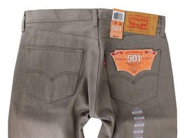 Levi's 501 Men's Original Fit Straight Leg Premium Jeans Button Fly 501-1405 image 1