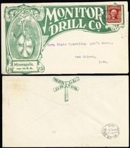 1908 Monitor Drill Co. With Collar Advertising Cover - Stuart Katz - $70.00