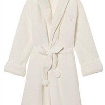 Victoria's Secret ✨NEW VERY SEXY  COZY HOODED SHERPA-LINED PLUSH ROBE, I... - $93.95