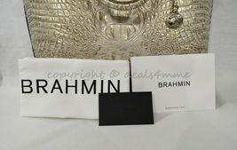 Brahmin Large Duxbury Leather Satchel/Shoulder Bag Sugar Cane Melbourne image 10