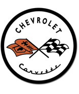 Chevrolet Corvette '53 Chevy Metal Sign Tin New Vintage Style USA #1797 - $10.29