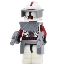 10 pcs Commander Fox Clone Trooper Minifigures Building Blocks Toys for ... - $19.50