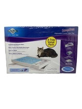 Pack Of 3 PetSafe Scoop Free Premium Blue Crystal Cat Litter Tray Origin... - $44.87