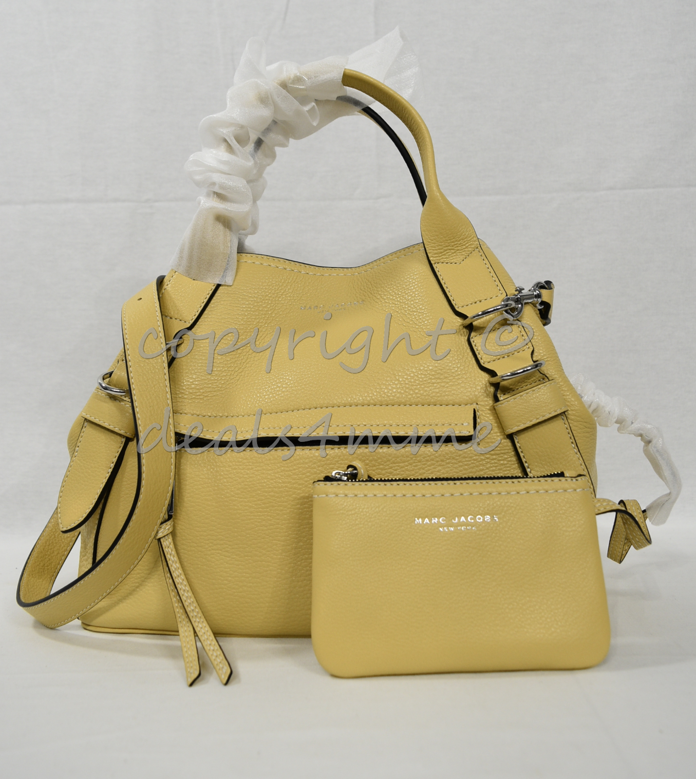 Primary image for MARC By Marc Jacobs M0012006 The Anchor Leather Satchel / Shoulder Bag in Sahara