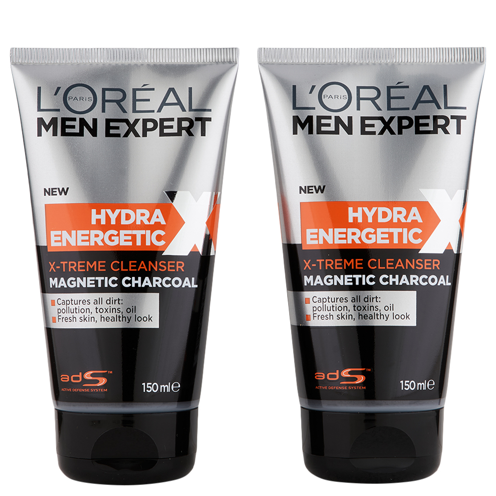 L'Oreal Paris Men Expert Hydra Energetic Extreme Cleanser 2 Ct 5 oz  - $15.50