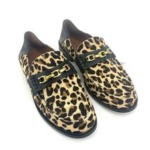 Size 5B Authentic COACH Putnam Haircalf Ocelot Natural Leopard Print Loa... - $99.24