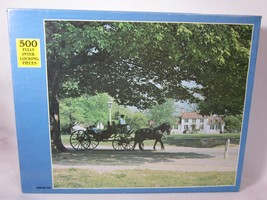 Rainbow Works 500 Piece Puzzle CARRIAGE RIDE Sealed Jigsaw - $6.93