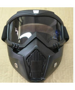 ATV Dirt Bike Flexible Goggles Glasses Face Mask Motorcycle Riding Safet... - $15.97