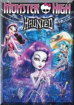 DVD - Monster High: Haunted (2015) *Spectra Vondergeist / Draculaura* - $5.00