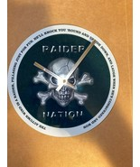 Cool Raider Nation The Autumn Wind  Wall Clock - $27.74