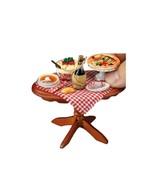 DOLLHOUSE -Italian Night- Table Display Reutter 1.821/4 Miniature  - $64.60