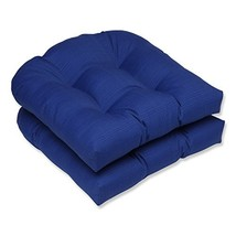 Pillow Perfect Outdoor/Indoor Wicker Seat Cushion, 19 in. x 19 in, Fresc... - £29.97 GBP