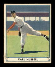 Vintage 1941 Play Ball #6 Carl Hubbell G/VG - $72.79