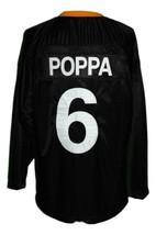 Biggie Smalls Poppa #6 Junior M.A.F.I.A. Hockey Jersey New Black Any Size image 2