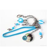 Haruka Nanase Bag Charm, Anime Keychain, Handmade Accessories, OOAK - $30.00