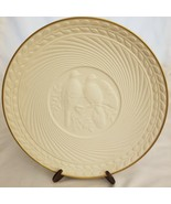 AVON Classic Wedding Plate Doves Bisque Porcelain Collector's w/ 14K Gol... - $3.91