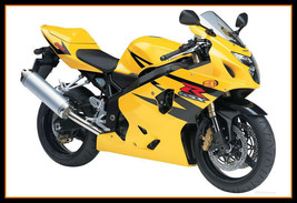 Yellow Black Fairings Fit For Suzuki GSXR600-750 2004 - 2005 Bodywork Kits Hulls - $339.51
