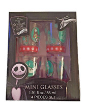 Nightmare Before Christmas Mini Glasses Set Shot Glasses - $19.99