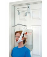Duro-Med Cervical Traction Collar Device For Neck Pain Relief, Over The ... - $22.11