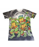 TMNT TEENAGE MUTANT NINJA TURTLES MEN'S GRAPHIC SMALL T-SHIRT NEW - $18.75