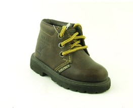 Vikings Baby/Toddler Leather Summit Boots, Chocolate, U.K. Size 5E, U.S ... - $29.69