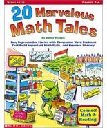 20 Marvelous Math Tales: Fun, Reproducible Stories With Companion Word P... - $19.75