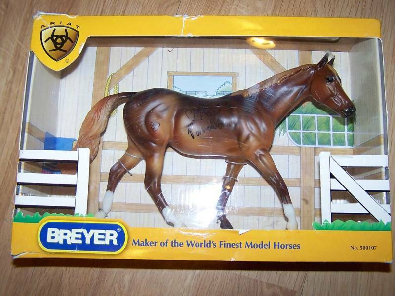 Primary image for Kay Panabaker Autograph Ariat 2007 Breyer Horse Limited Edition Liver Chestnut